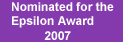 The Epsilon Award 2007